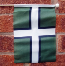 DEVON - HAND WAVING FLAG (MEDIUM)